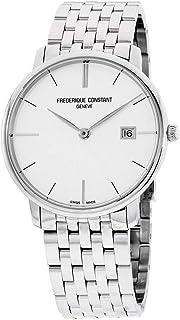 Frederique Constant Geneve - Slimline Gents FC-220S5S6B Reloj de Pulsera para Hombres Plano & Ligero