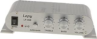 Vetrineinrete/® Amplificatore audio 12 v usb mp3 casa auto barca con 2 canali per stereo lettore musicale 500 w ma-150 M48