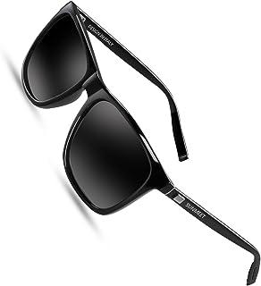 Gafas de sol Hombre Polarizadas Clásico Retro Gafas de sol para Hombre UV400 Protection S1001