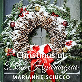 Christmas at Blue Hydrangeas  audiobook cover art