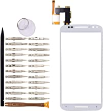 Goodyituo Touch Screen Glass Digitizer Replacement for Motorola Moto X Style/X Pure Edition/XT1570/XT1575(White)