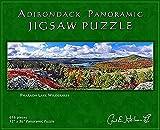 Carl E. Heilman II Adirondack Jigsaw Puzzle, Panoramic, Pharaoh Lake Wilderness - PLPZ