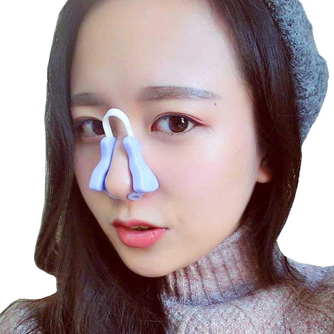 自動起きろ伝染病YOE(ヨイ) ノーズアップ 鼻プチ 鼻筋ビューティー ノーズクリップ 美鼻でナイト プチ整形 鼻 矯正 ノーズピン (フリーサイズ, パープル)