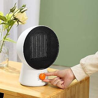 Calefactor Pequeño Calentador de Alta Potencia Tres Ajuste de Temperatura de Cabeza móvil Caliente Velocidad Habitación Sala Oficina QIQIDEDIAN