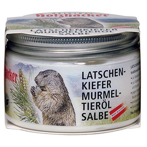 Holzhacker - Latschenkiefer Murmeltierölsalbe 150ml