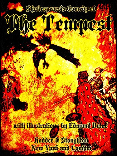 Shakespeare's Comedy of The Tempest (Illustrations) (English Edition)