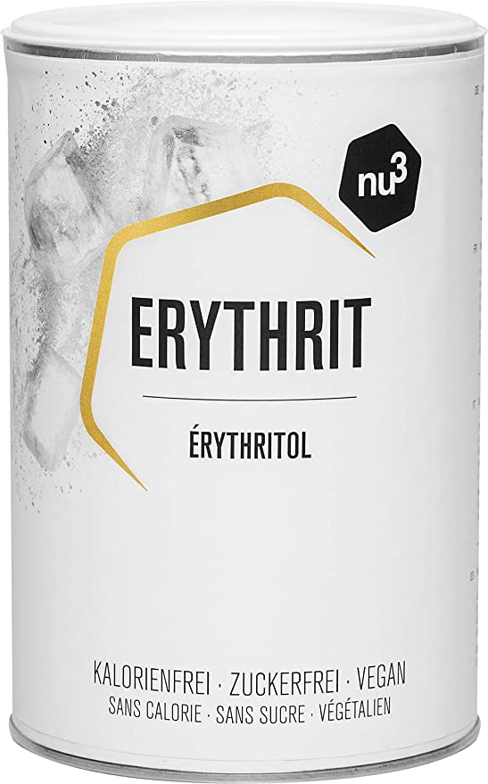 702 opinioni per nu3 Erythrit 750 g- Sostituto zucchero- Dolcificante senza calorie + Indice