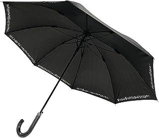 CAFEDIMLY(カフェディムリー)あなたの心を元気にしてくれるアンブレラ 心に響く8つのフレーズでモチベーションUP間違いなし 自己啓発 メンズ傘 ジャンプ傘 ブラック 親骨65cm 風に強くて丈夫なグラスファイバー製耐風Z骨使用