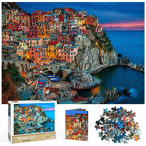 Puzzles 1000 Piezas para Adultos, Puzzle Adultos, Puzzles de 1000 Piezas Regalo de Juguetes de Rompecabezas para Adultos Adolescentes Niños Niñas