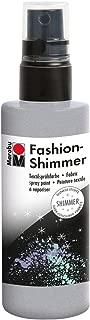 Marabu 17189050581 Fashion Shimmer 100ml-Simmer Silver