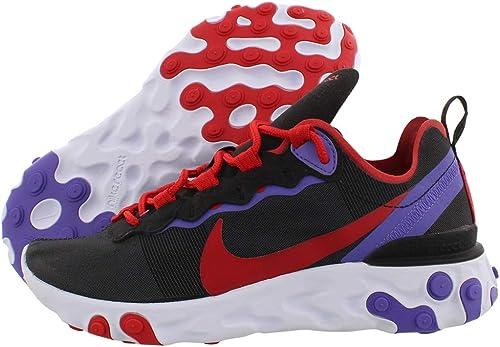 Nike W React Element 55, Chaussures d'Athlétisme Femme