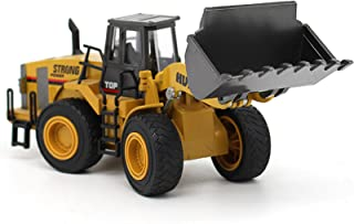 Alloy Engineering Vehicle Model Bulldozer Shovel 1:40 Mechanical Loader Giant Truck Construction Vehicle Toys for Kids And...
