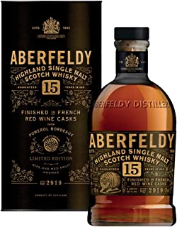 Aberfeldy 15 Jahre Pomerol Rotweinfass Finish Limited Edition Exceptional Cask Serie Single Malt Whisky 1 x 0.7 l