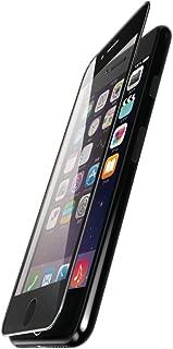 エレコム iPhone7用 フィルム フルカバーフィルム ガラス サイド衝撃吸収 ブラック PM-A16MFLGGSRB