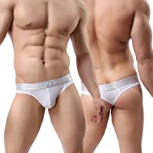 MuscleMate Mode Men's Thong Underwear, Men's Thong G-String Undie, No Visible Lines,Top Quality.
