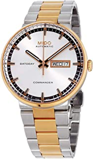MIDO Commander II Automatic Swiss Watch Silver Rose Gold M01