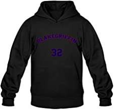 Blake Griffin Hot 100% Cotton Black Long Sleeve Hoodie For Adult Size S