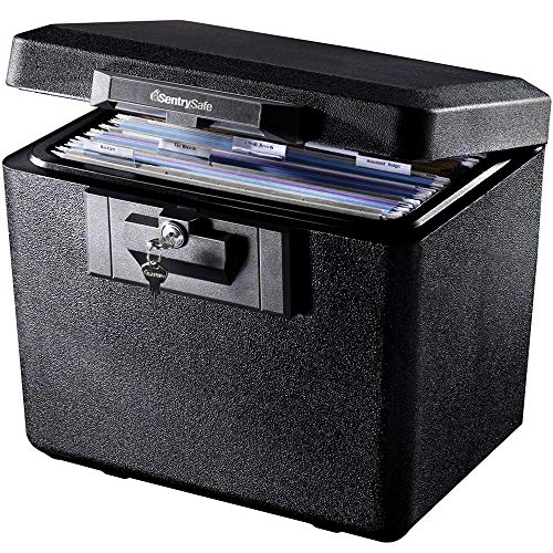 SentrySafe 1170BLK 1/2 Hour Fireproof Security File
