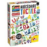 Lisciani L'ALPHABET Jeux EDUCATIF – Montessori-L'Alphabet Tactile – FR72446, Multicolore
