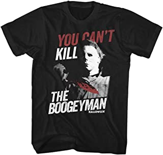 Halloween Scary Horror Slasher Movie You Can't Kill Boogeyman Adult T-Shirt Tee