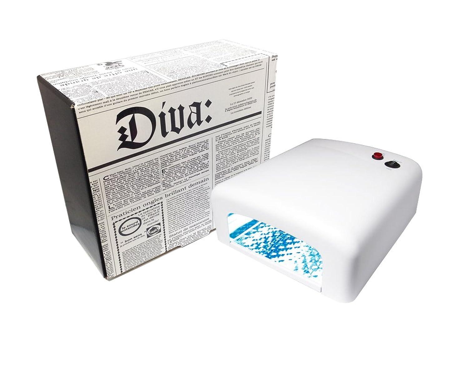 法的ガム想像力豊かなDiva(ディーヴァ) UVライト36W(UVランプ) 本体 ホワイト