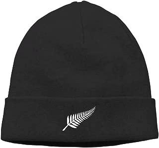 New Zealand Maori Fern Unisex Noveity Hipster Beanie Cap&Hip-hop Cap&Set Head Cap&Skull Cap&Toboggan Cap
