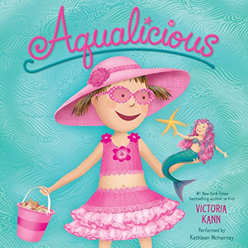 Aqualicious audiobook cover art