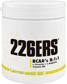 226ERS BCAA's 8:1:1. Aminoácidos Esenciales con Vitamina B6. Sabor Limón - 300 gr
