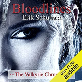 Bloodlines: The Valkyrie Chronicles, Book 2 audiobook cover art