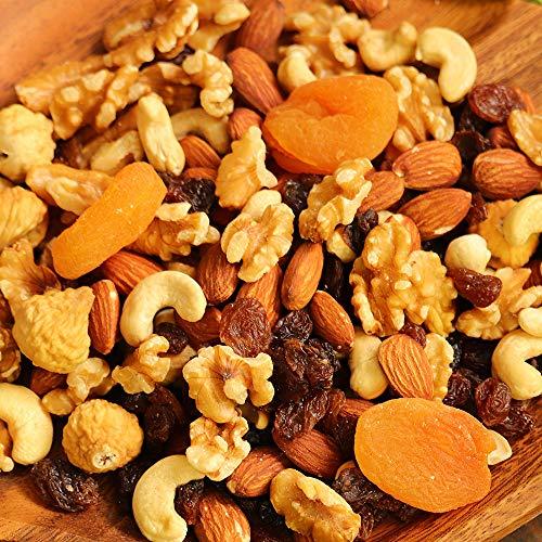 大地の生菓 9種類のナッツ&ドライフルーツ ミックス 230g 砂糖不使用 無塩 母の日 ギフト プレゼント プチギフト トレイルミックス 非常食 保存食 家飲み 宅飲み