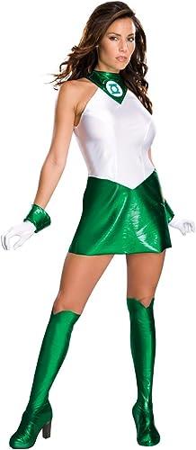 grandes precios de descuento Desconocido Disfraz de Linterna verde verde verde para mujer  contador genuino
