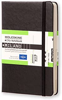 Moleskine Journey City Notebook, Milan, Hard Cover, Pocket (3.5