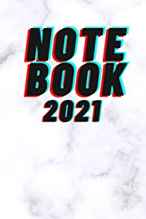 NOTE BOOK 2021: School notebook : 100 Pages : Size 6 × 9