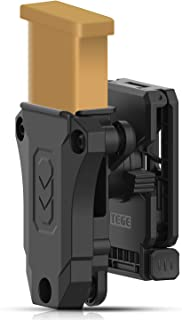 efluky Universal Single Mag Pouch, Single Stack Magazine Belt Holster Fits Glock Sig Browning Beretta Taurus H&K S&W Colt Kimber 1911 Mags and More