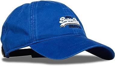 Superdry Wash Twill Cap - Stone Royal Blue