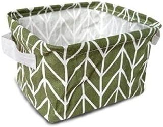 B/H Compact Boîte de Rangement ,Boîte de Rangement étanche Portable pour Panier de Rangement de débris de Bureau en Tissu ...