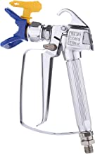 Challco PN-006 Airless Paint Spray Gun,High Pressure 3600Psi/248bar with 517 Tip Swivel Joint & Tip Guard