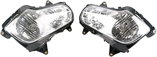 2021 Mallofusa Motorcycle Front Headlight Headlamp Assembly Compatible discount for Honda Gold Wing GL1800 2001 2002 2003 2004 sale 2005 2006 2007 2008 Clear Lens online sale