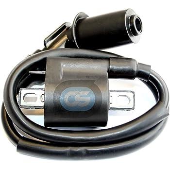 Motadin Ignition Coil for Yamaha KODIAK 400 4WD YFM400 1993 1994 1995 1996 1997 1998
