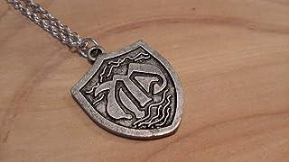 Collana hope mikaelson the vampire diaries ciondolo simbolo regalo metallo amuleto