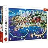 Trefl 27107 Puzzles 2000 Puzzels, farbig -