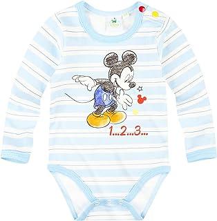 3 mois, Bleu//rouge Barboteuse b/éb/é gar/çon Mickey Trompe-oeil Cow-boy de 3 /à 18mois