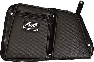 PRP Seats E40-210 Carbon Fiber Black Driver Side Rear Door Bag with Knee Pad