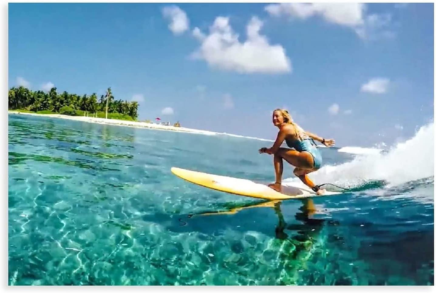 Surfing Summer Poster gift Surf 44 Canvas Decoration Free shipping / New