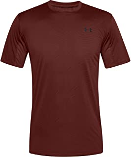 Under Armour Men's Training Vent Short-Sleeve Extra-Soft Gym T Shirt, Breathable Short Sleeve Running Apparel with Anti-Od...
