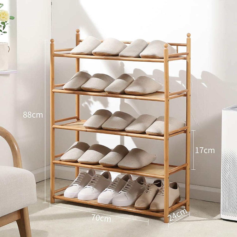 3 4 5 6-layer shoes Rack Shelf Flower Stand Bookshelf Storage Shelf shoes Cabinet Multifunction Household Doorway Entrance Space Saving (Size   70  24  88CM)