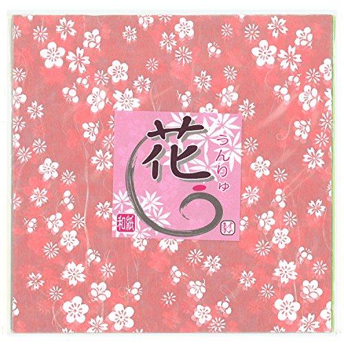 Origamipapier 2-423 Unryu-Ume Pflaumenblüte 15 cm
