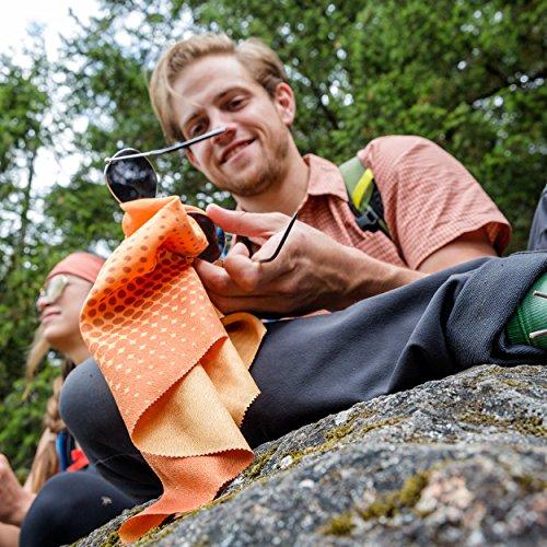 "PackTowl Nano Towel, Blue Mountain, 19"" x 19"""