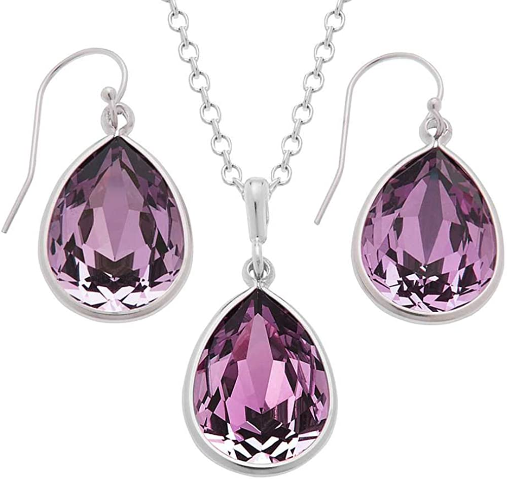 Gem Stone King Oakland Mall Nirano New Shipping Free Collection Pink Silver Jewelry 925 Set Mad