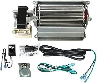 Mr. KAN GFK21 K21 Replacement Fireplace Blower Fan Kit for Heatilator, Majestic, Vermont Castings, Monessen, Heat n Glo, FMI, CFM, DESA, Rotom HB-RB21
